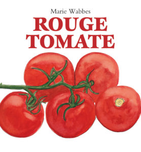 rouge comme une tomate expression